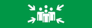 Знак эвакуации Место сбора